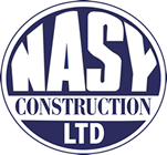 Nasy Construction Logo Website